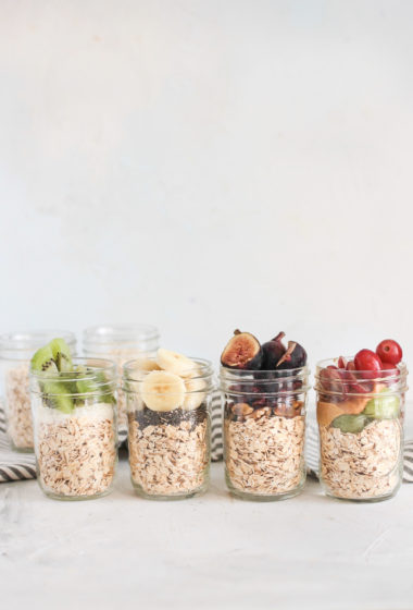 Back to school easy kid friendly oat and fruit jar breakfast