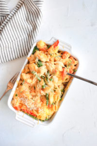 Super Vegetable Sweet Potato Shell Mac n'Cheese
