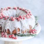 Christmas Cranberry Orange Cake