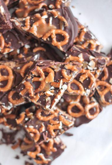 Sweet Salty Healthy Chocolate Bark