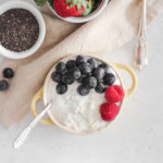 Overnight Chia Oat Yogurt Pudding