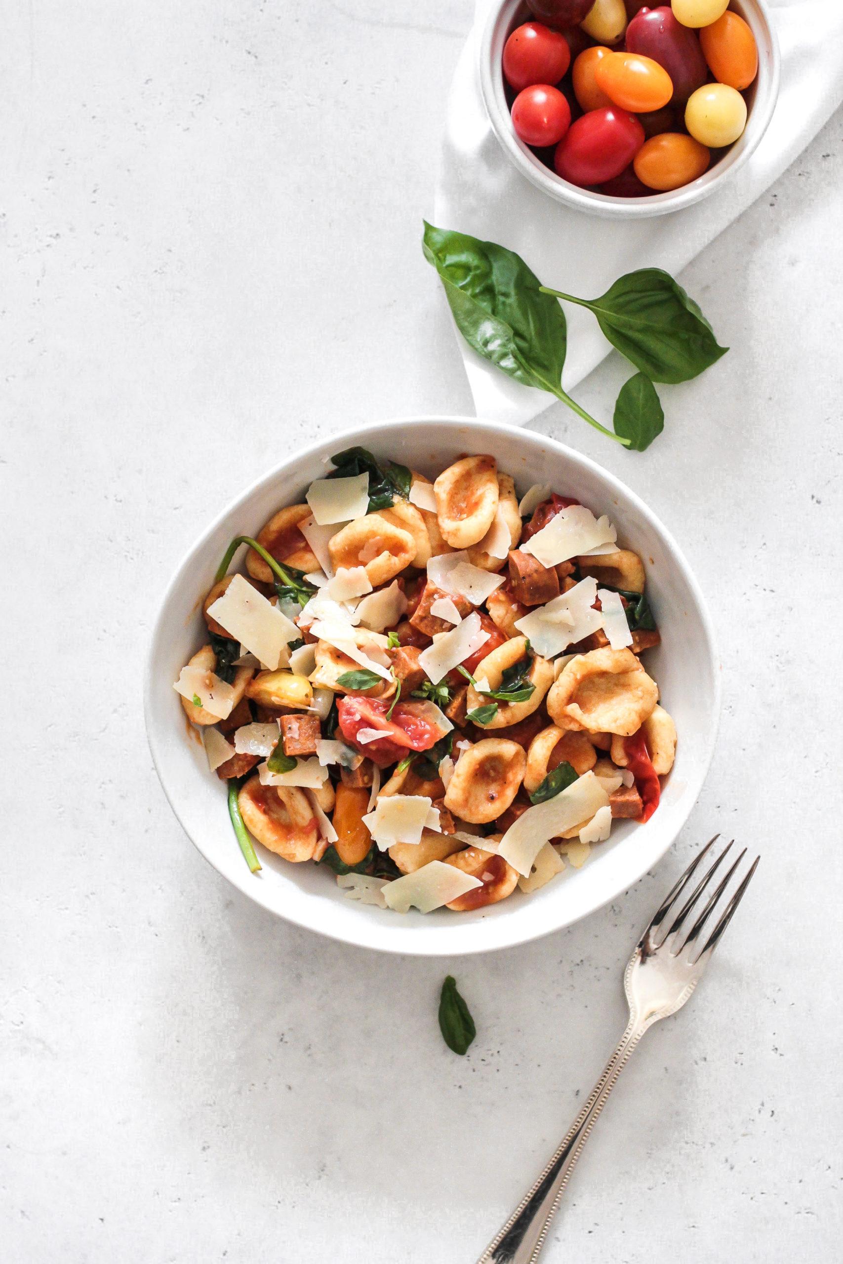 Orecchiette Pasta From Scratch