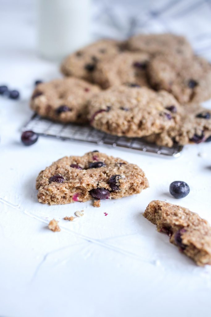 Healthy Blueberry Breakfast Cookie
